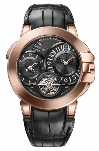 Harry Winston Ocean Tourbillon GMT