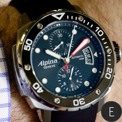 Alpina Extreme Diver 300 Chronograph Automatic ...