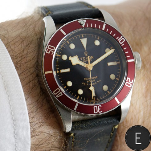 tudor heritage black bay blue more choice for watch lovers escapement magazine watch news. Black Bedroom Furniture Sets. Home Design Ideas