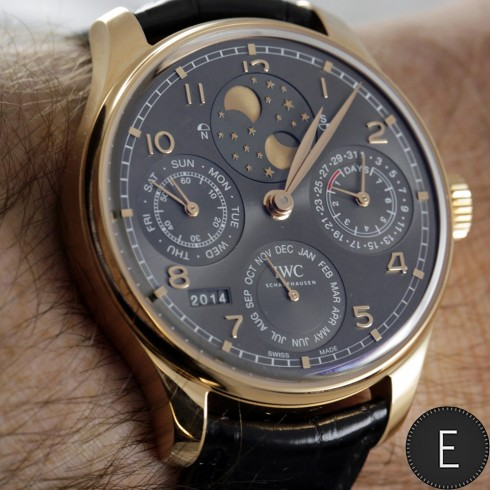 iwc portuguieser a few highlights from the 2015 collection escapement magazine watch news. Black Bedroom Furniture Sets. Home Design Ideas