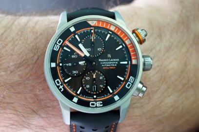 Maurice Lacroix Pontos S Extreme - ESCAPEMENT - watch magazine by Angus Davies