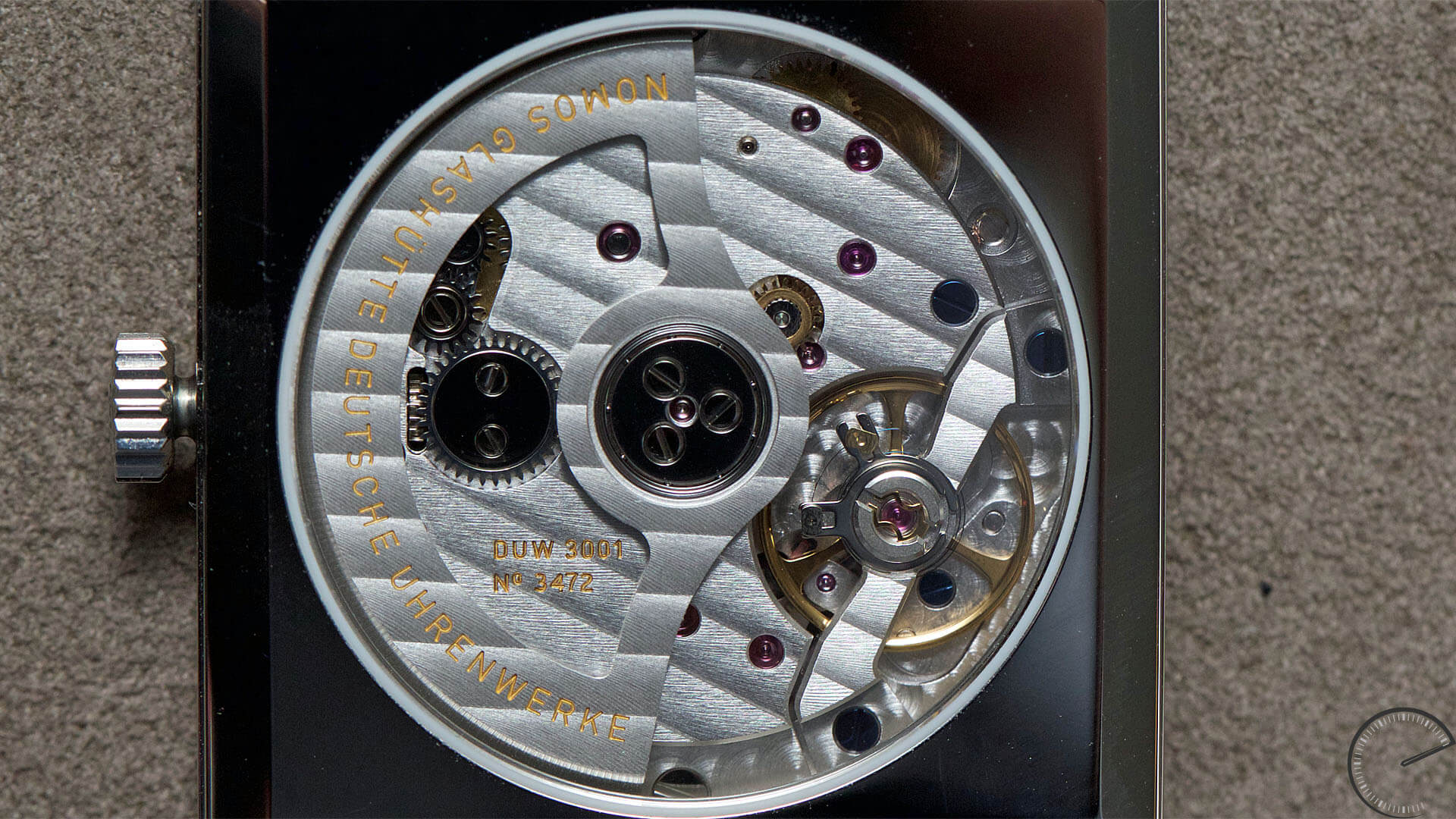 NOMOS_Glashuette_Tetra_neomatik_movement - ESCAPEMENT magazine - watch reviews by Angus Davies