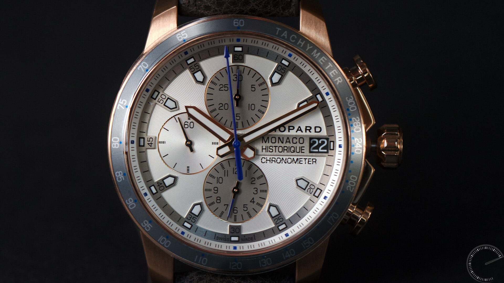 Chopard_GPMH_2016_Race_Edition_gold_dial - ESCAPEMENT MAGAZINE - watch reviews by Angus Davies