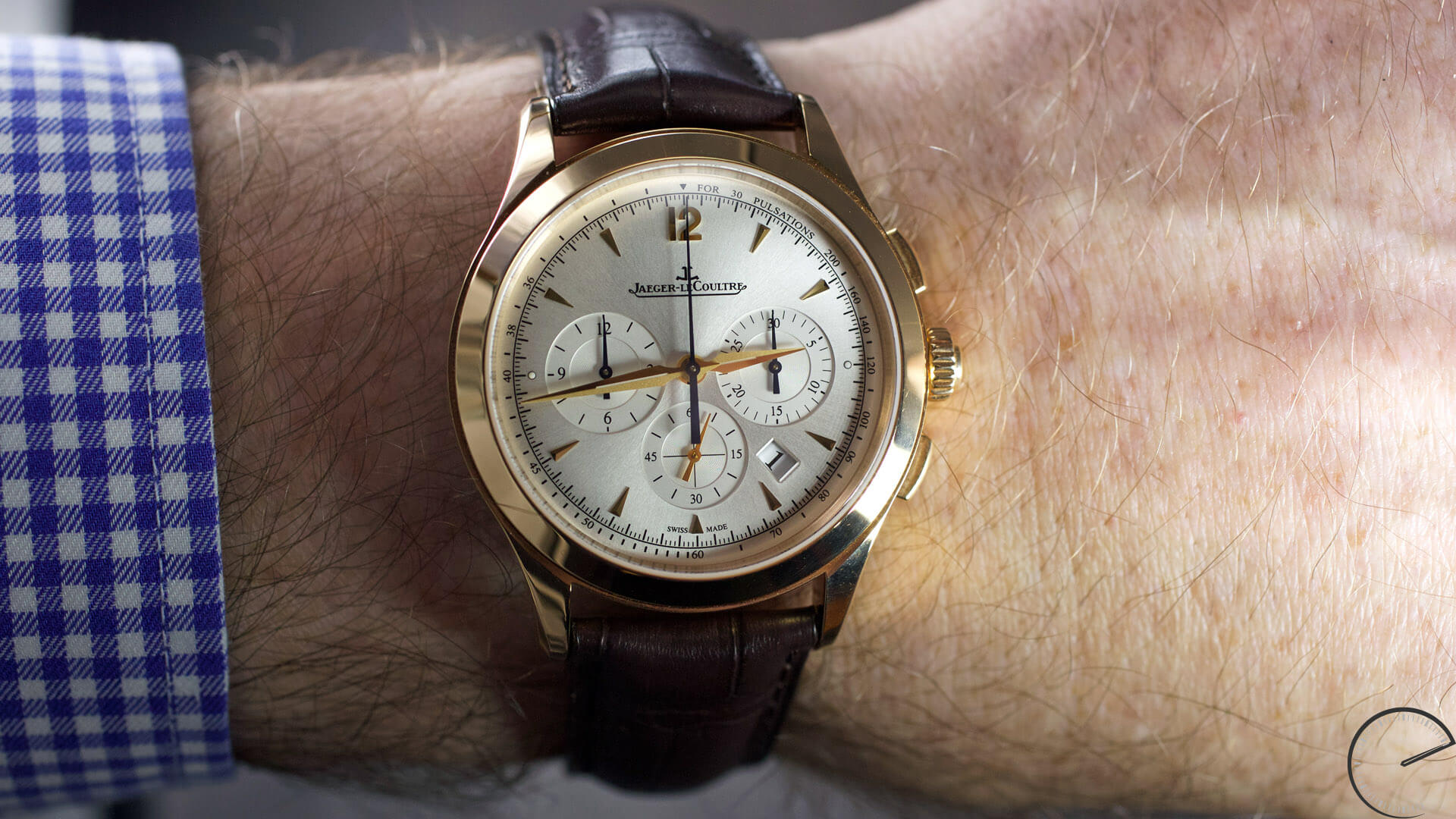 Jaeger-LeCoultre Master Control Master Chronograph in 18-carat pink gold