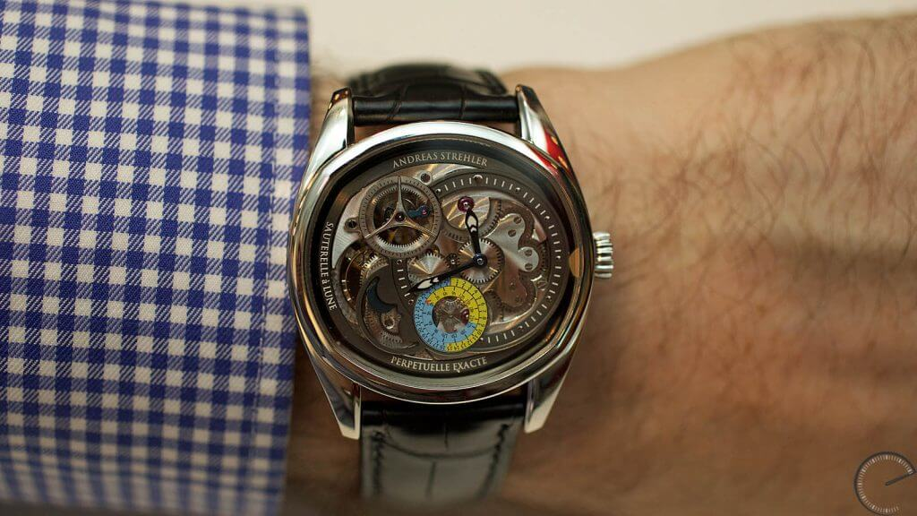 Andreas Strehler Lune Exacte – a watch featuring the world's most precise moon indication