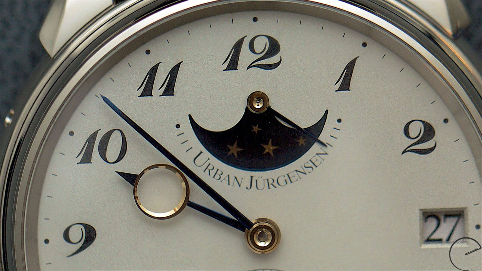 Image of Urban Jurgensen Jules Collection Ref 2340 WG with grainage dial