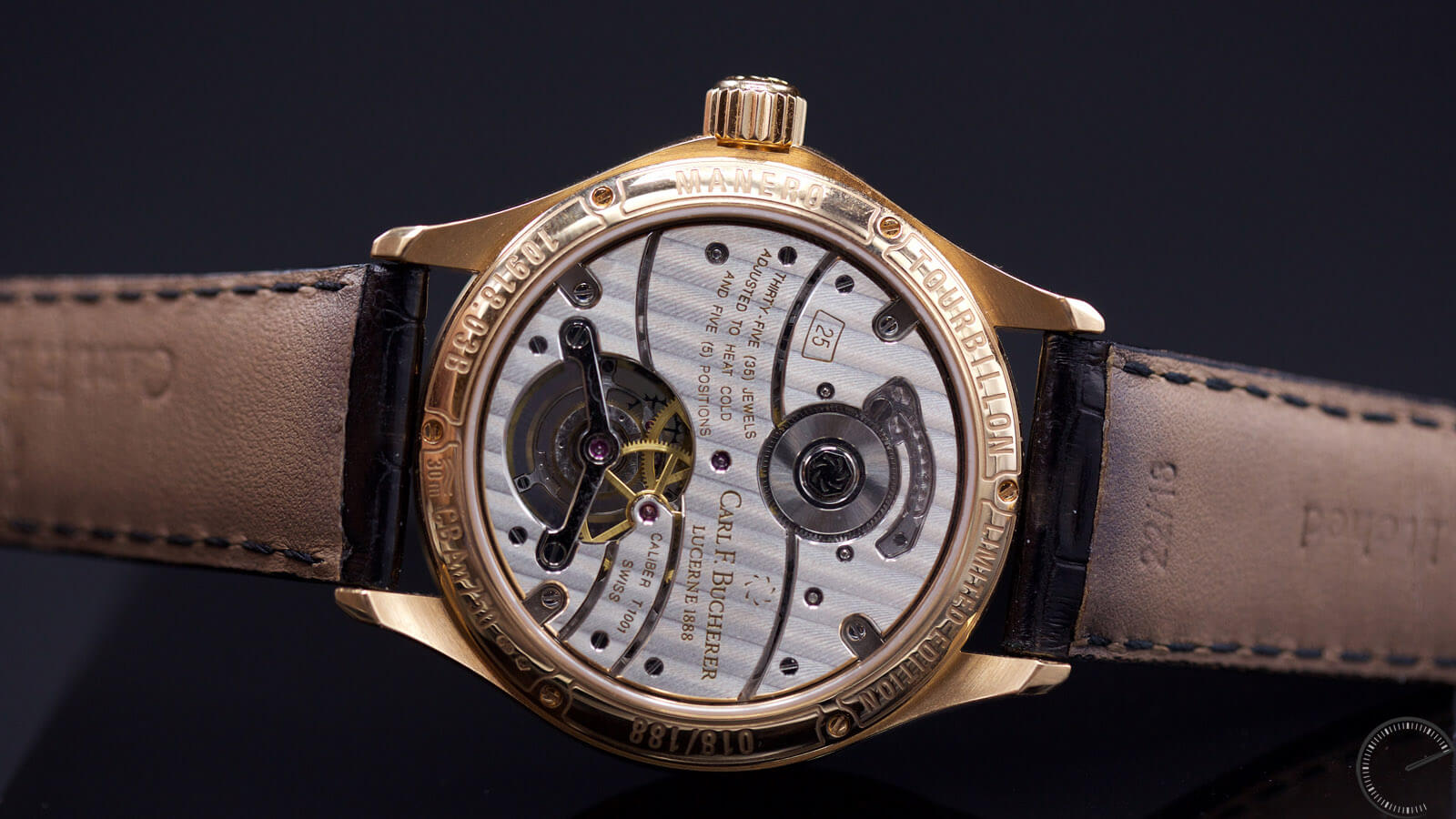 Image of Carl F. Bucherer Manero Tourbillon Reference 00.10918.03.33.01