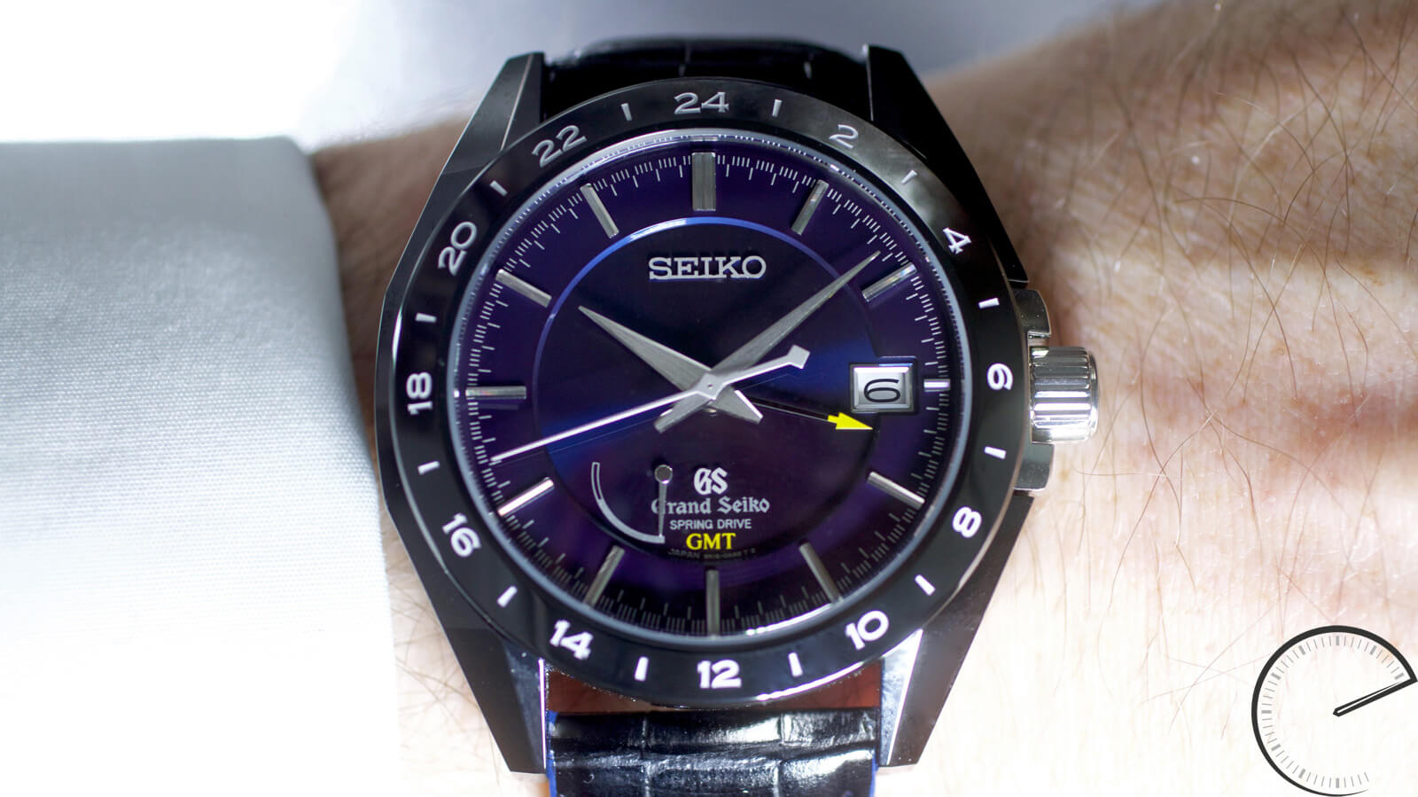 Image of Grand Seiko Black Ceramic Limited Edition SBGE039