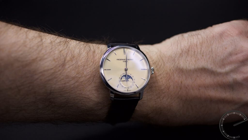 Frederique Constant Slimline Moonphase Manufacture – new Ivory dial