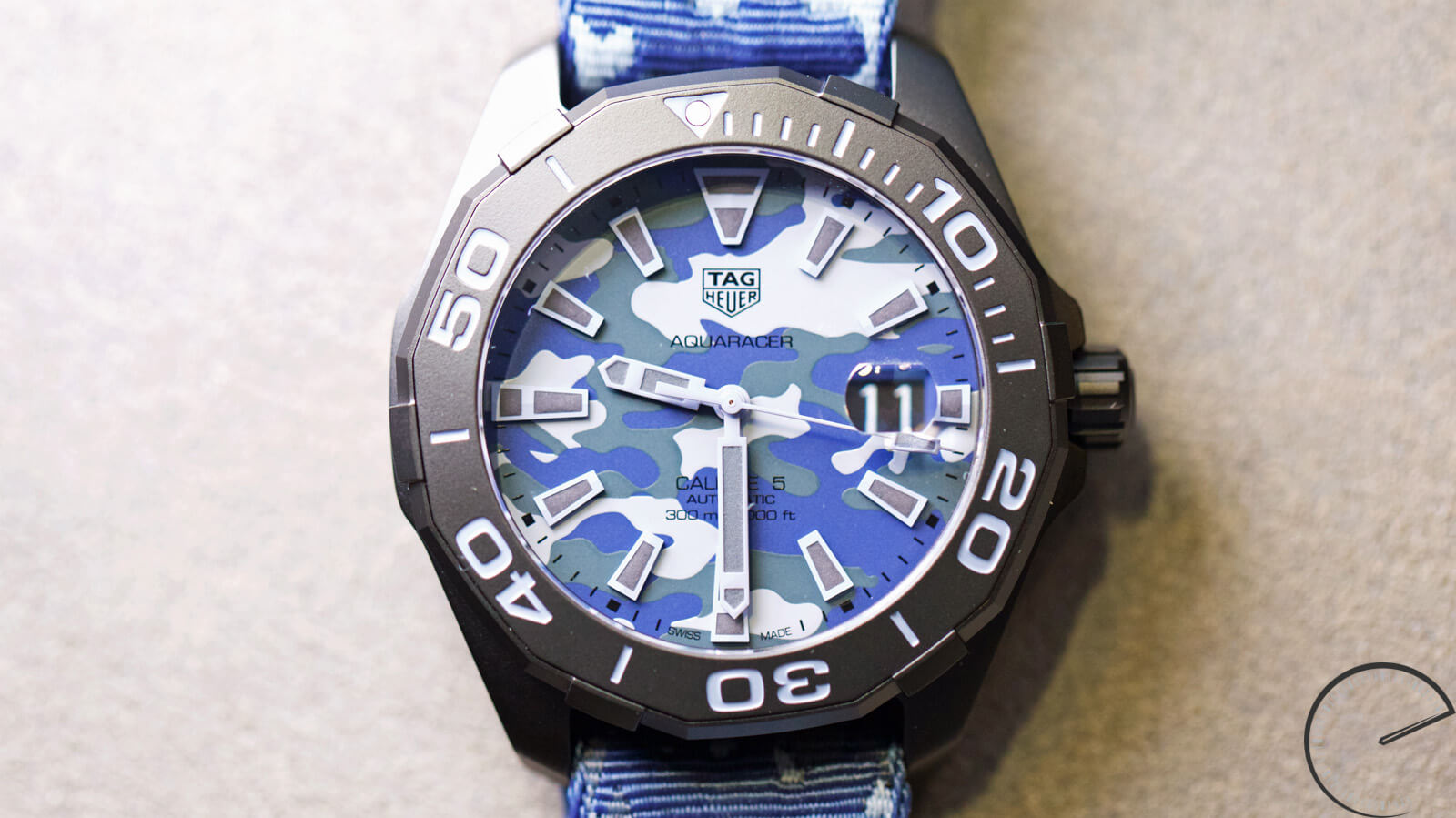 TAG Heuer Aquaracer Camouflage 300 Metres - Calibre 5