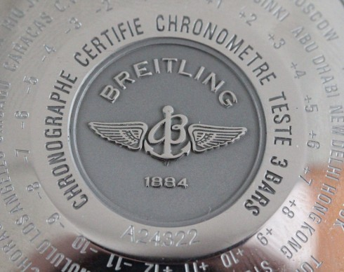 Breitling Navitimer World (reference 24322)
