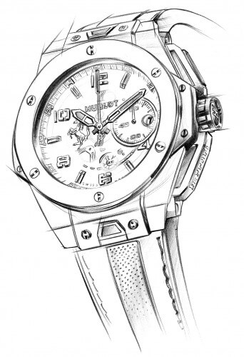 Hublot Big Bang Ferrari Titanium Escapement Magazine