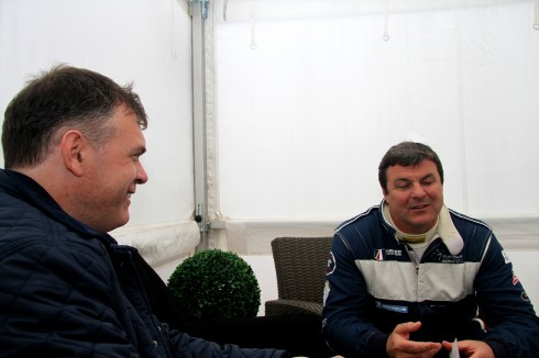 An interview with Mark Blundell, F1 legend and ambassador for William & Son, London.