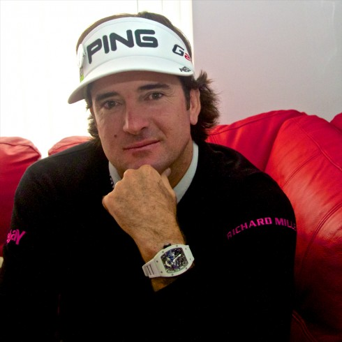 Angus Davies talks watches with Bubba Watson