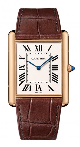 Tank Louis Cartier XL slimline watch