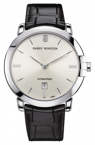 Harry Winston Midnight Automatic in rose gold