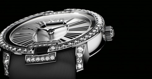 Roger Dubuis Velvet diamonds in white gold