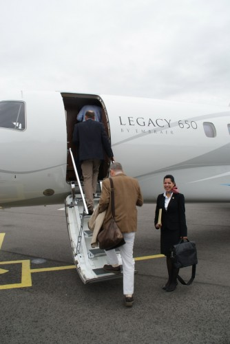 A day out with Embraer