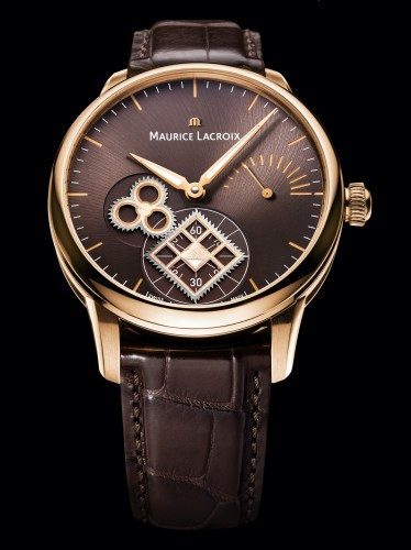 Maurice Lacroix Masterpiece Roue Carree Seconde Pink Gold