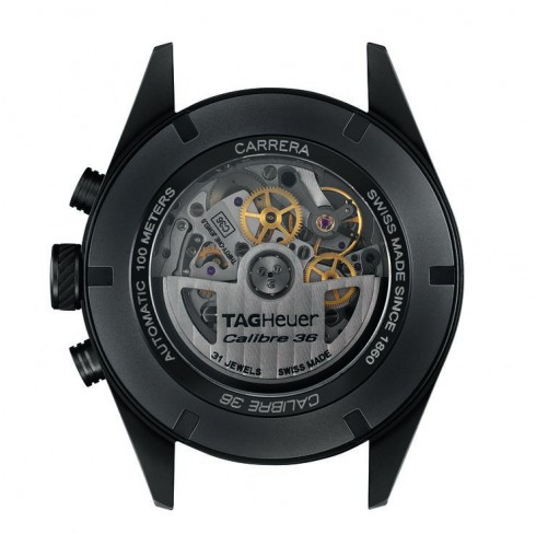 """ae0a954258d TAG Heuer CARRERA Calibre 36 Chronograph Flyback """"Racing"""" (43mm ..."""