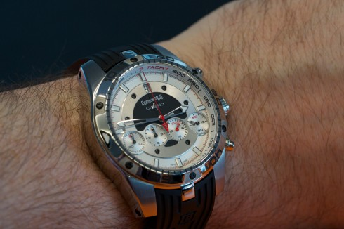 Eberhard Chrono 4 Géant - hands on