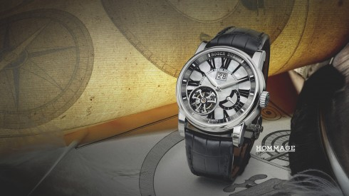 Roger Dubuis Hommage Flying Tourbillon with large date