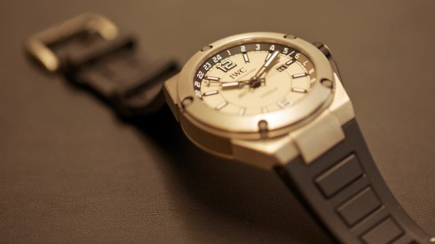 "IWC Ingenieur range including a ""hand-on"" review of the Dual Time Titanium"
