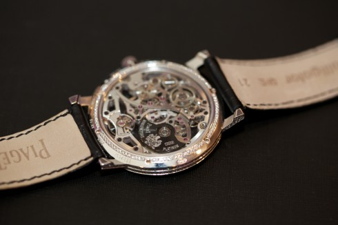 Piaget Altiplano automatic gem-set Skeleton watch