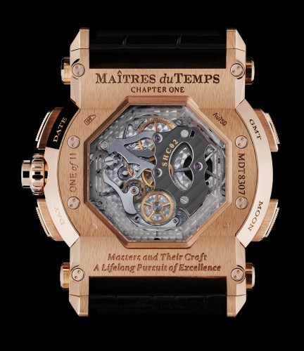 Maitres du Temps Chapter One Round Transparence