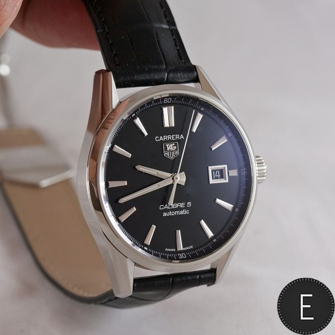 Tag Heuer Carrera Calibre 5 Automatic Steel 39mm In Depth Watch Review By