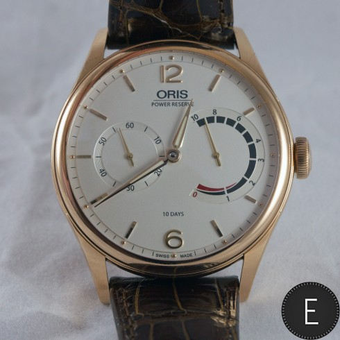 Oris 110 Years Limited Edition in rose gold - in-depth watch review by ESCAPEMENT