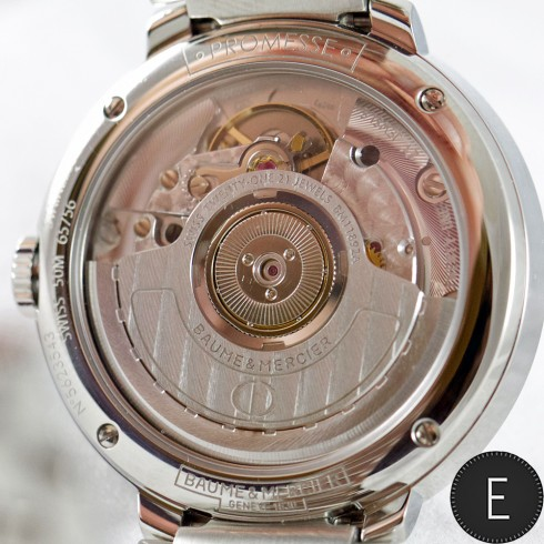 Baume & Mercier Promesse MOA 10163 - in-depth watch review by ESCAPEMENT