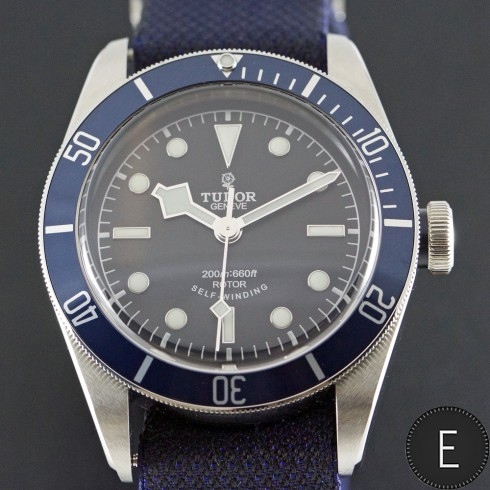 Tudor Heritage Black Bay Blue - more choice for watch lovers