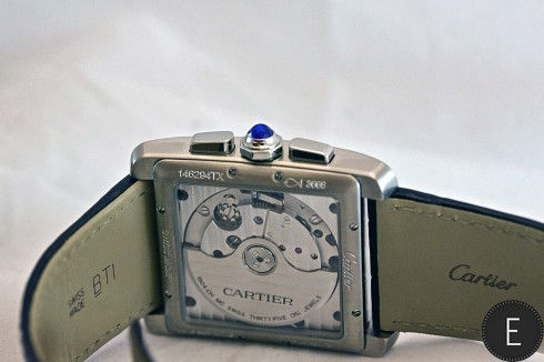 Cartier Tank MC Chronograph in steel - in-depth watch review by ESCAPEMENT