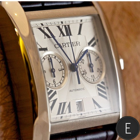 Cartier Tank MC Chronograph in steel | CARTIER WATCH REVIEW