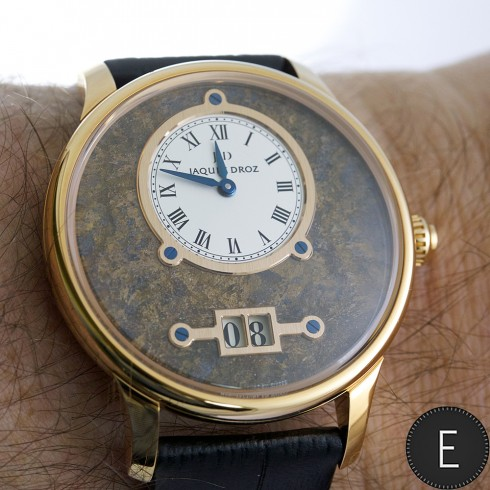 Jaquet Droz Grande Date Bronzite - watch review by ESCAPEMENT