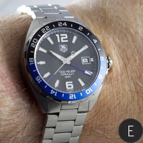 6959744650eb1 TAG Heuer Formula 1 Calibre 7 GMT - watch review by ESCAPEMENT