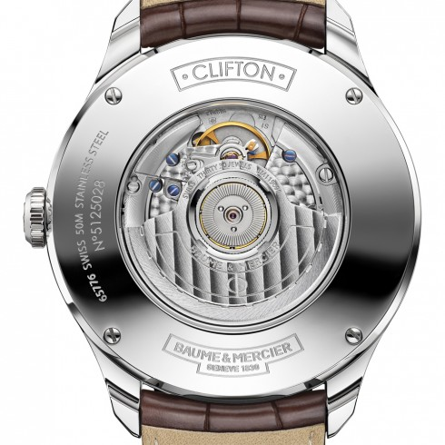 Baume & Mercier Clifton Big Date and Power Reserve Ref. 101205 - SIHH 2015