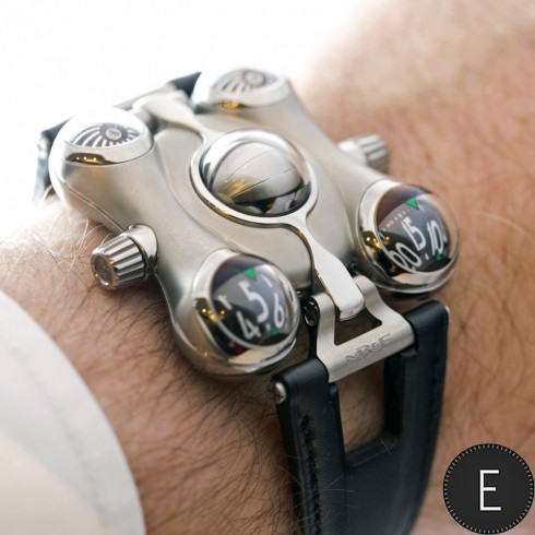MB&F HM6 Space Pirate - watch review by ESCAPEMENT