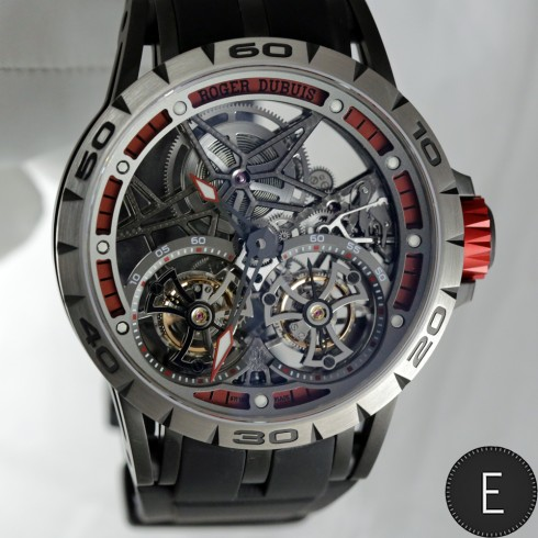 Roger Dubuis Excalibur Spider Skeleton Double Flying Tourbillon - watch review by ESCAPEMENT
