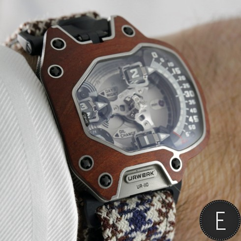Urwerk UR-110 Eastwood - watch review by ESCAPEMENT