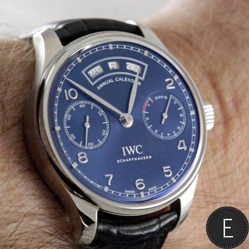 IWC Portugieser Annual Calendar Ref IW503502 - watch review by ESCAPEMENT