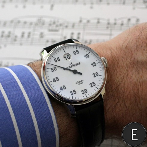 MeisterSinger Salthora Meta - watch review by ESCAPEMENT 1571a6937e