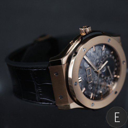 Hublot Classic Fusion Aeromoon - watch review by ESCAPEMENT