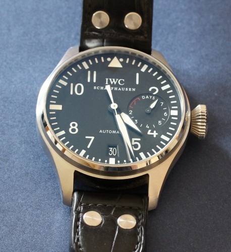 IWC Big Pilot's Watch Perpetual Calendar manufactured exclusively for the IWC London Boutique - watch review by ESCAPEMENT