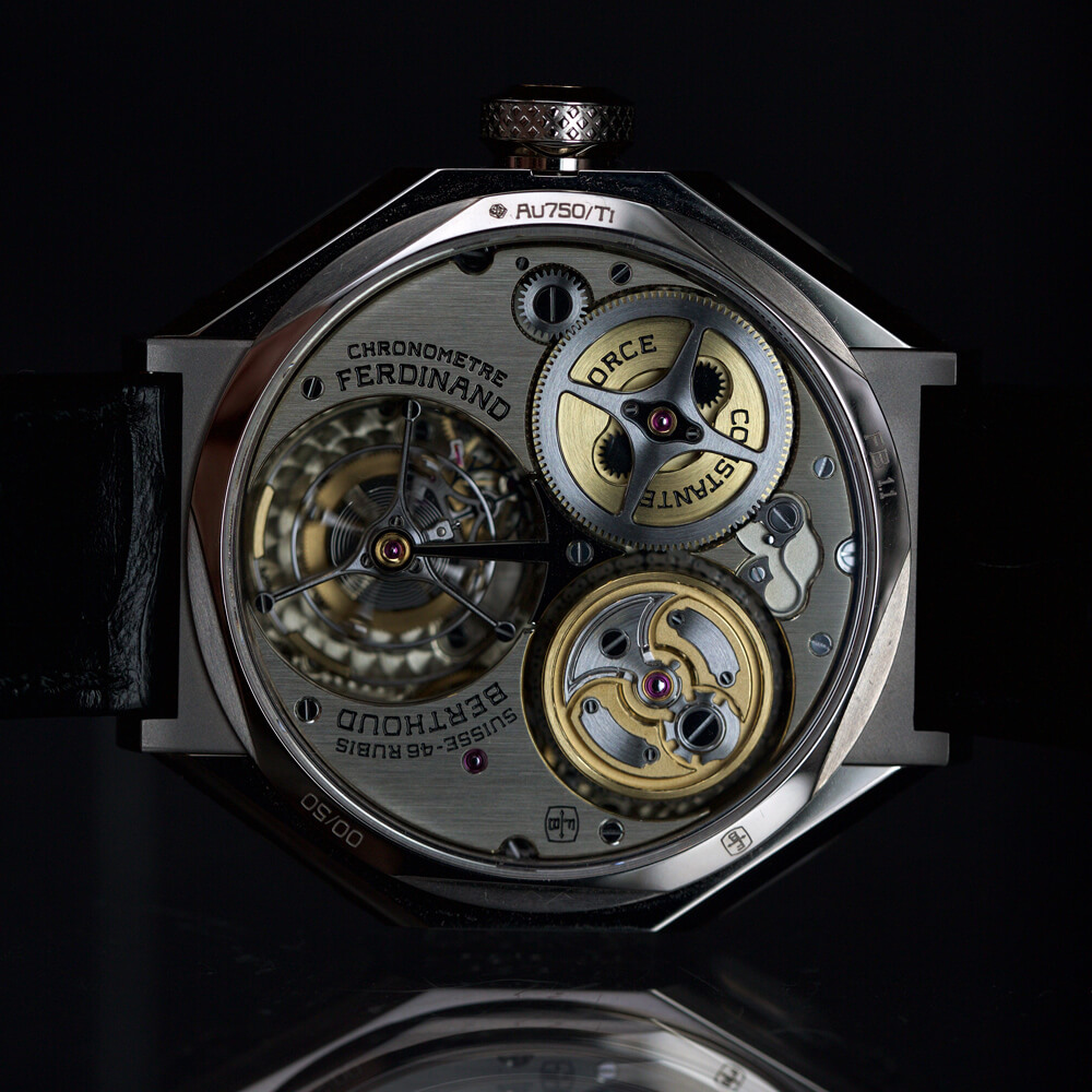 Chronométre FERDINAND BERTHOUD FB1 - ESCAPEMENT - Watch Blog by Angus Davies