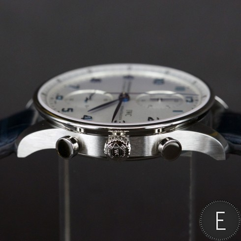 IWC Portugiesier Chronograph Reference 3714 - watch review by ESCAPEMENT