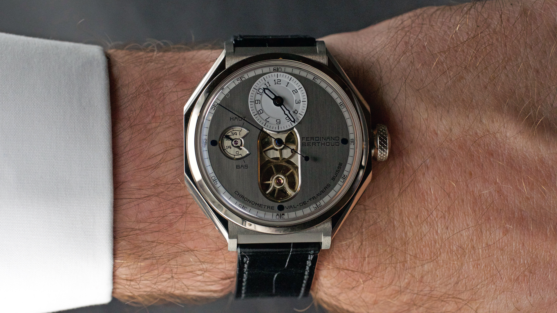 FERDINAND BERTHOUD FB 1 - ESCAPEMENT - watch blog site