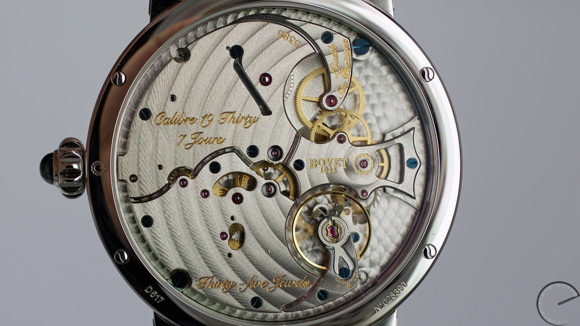 Bovet 19 Thirty with Dimier case - ESCAPEMENT magazine by Angus Davies
