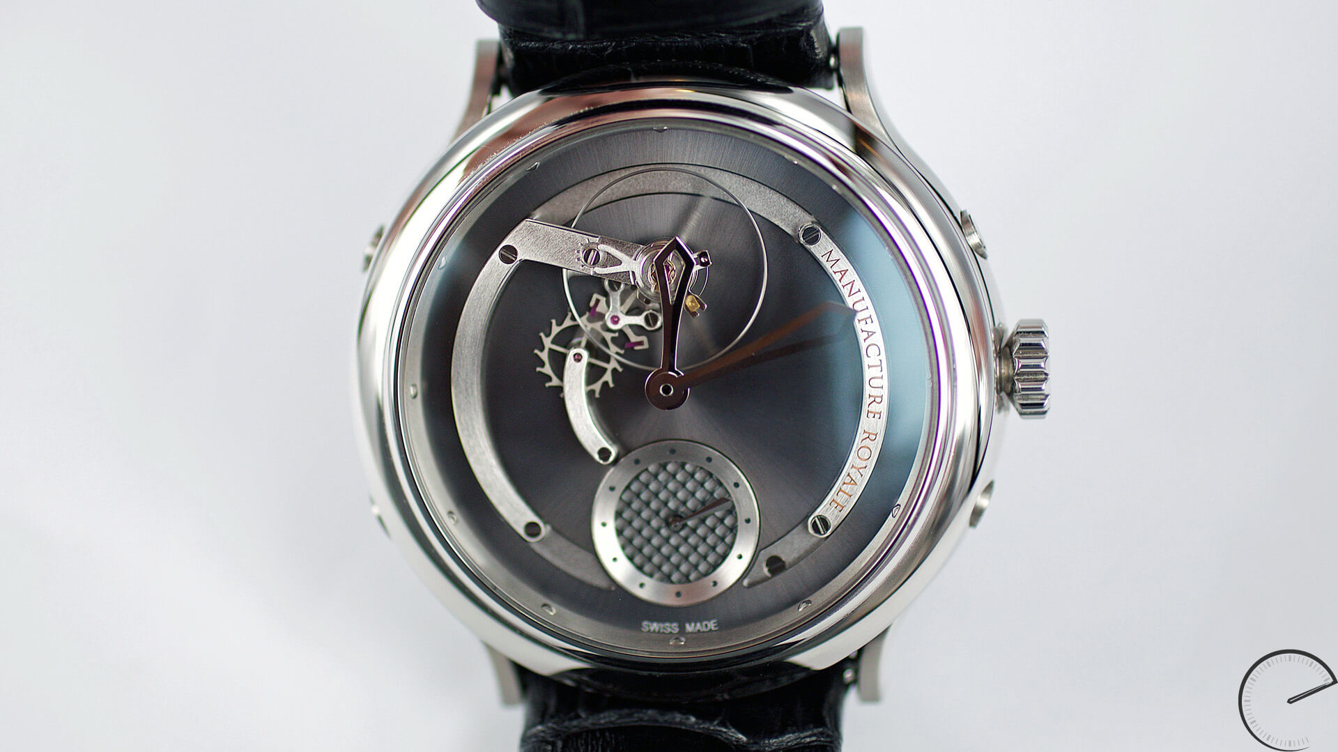 Manufacture Royale 1770 Voltige - ESCAPEMENT magazine - watch review website by Angus Davies